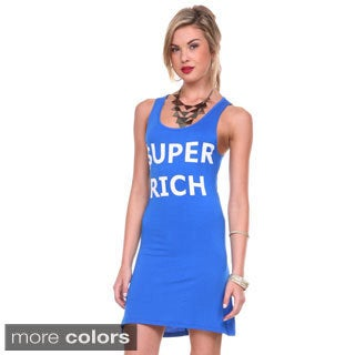 Stanzino Women's 'Super Rich' Soft Tank Dress