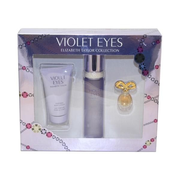 Elizabeth Taylor Violet Eyes 3-piece Gift Set