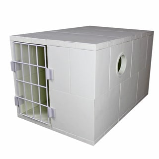 Standard Pego White Pet House with Door