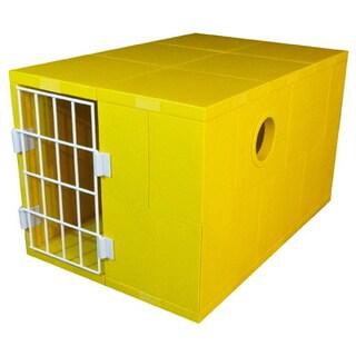 Standard Pego Yellow Pet House with Door