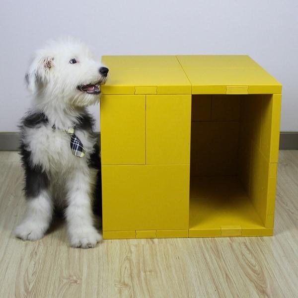 Mini Pego Yellow Pet House
