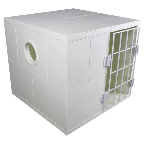 Mini Pego White Pet House with Door