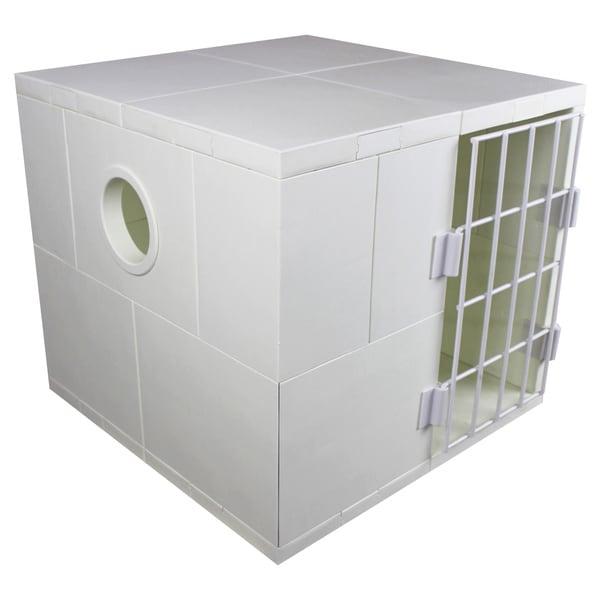 Mini Pego White Pet House with Door