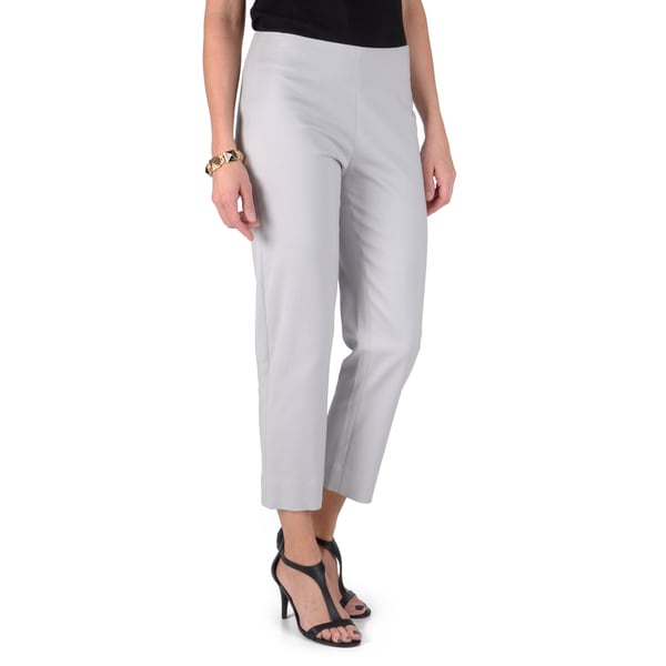 Madison Hill Women's Cropped Side Zip Audrey Pants