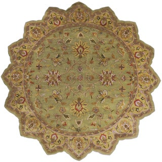 Hand-Tufted Selsey Wool Rug (8' Star)