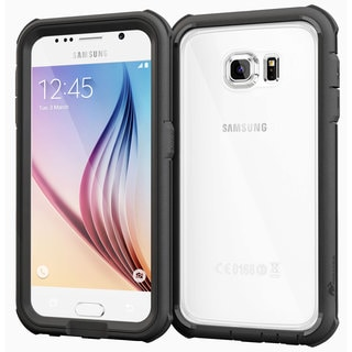 rooCASE Glacier Tough Clear-back Case for Samsung Galaxy S6