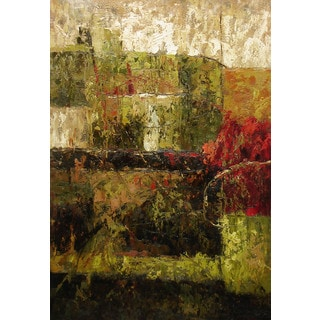 Abstract Textured Impressionalism Oil Painting