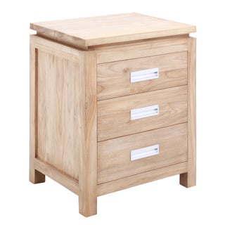 Hendrik 3-drawer Side Table