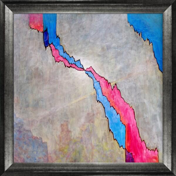 Clive Watts Crack Framed Fine Art Print