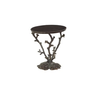 Christopher Knight Home Dark Bronze Coral Branch Accent Table