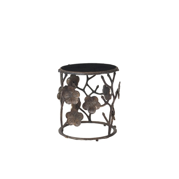 Christopher Knight Home Dark Granite Metal Accent Table