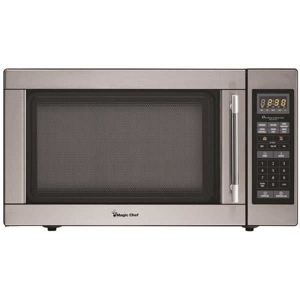 Magic Chef 1.6 Cubic Foot Countertop Microwave Oven