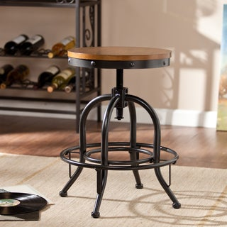Upton Home Industrial Adjustable Stool