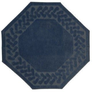 Herringbone Collection Octagon Rug (6'x6')