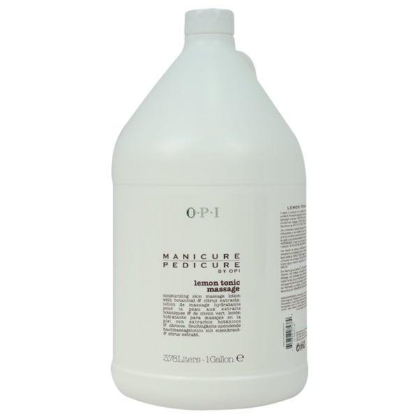 OPI Manicure Pedicure Lemon Tonic 1-Gallon Massage Lotion