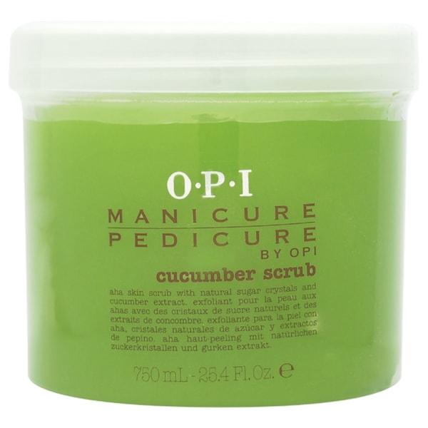 OPI Manicure Pedicure Cucumber 25.4-ounce Scrub