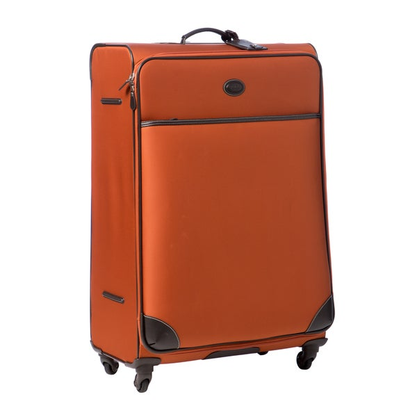 Brics Pronto Tangerine 32-inch Large Spinner Trolley Upright Suitcase