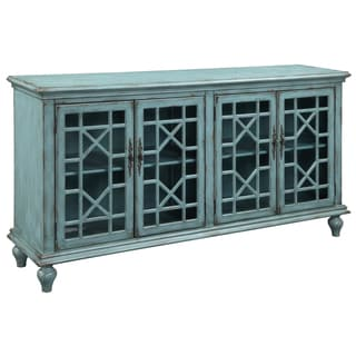Christopher Knight Home Textured Blue Four-door Credenza