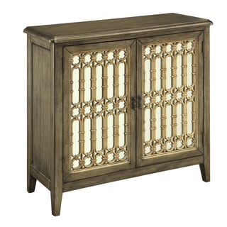 Christopher Knight Home Lara Gold Two-door Cabinet
