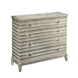 Christopher Knight Home Textured Silver Four-drawer Chest