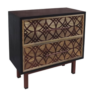Christopher Knight Home Natural Two-drawer Chest