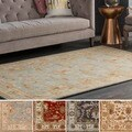 Hand-tufted Telford Floral Wool Rug (6' x 9')