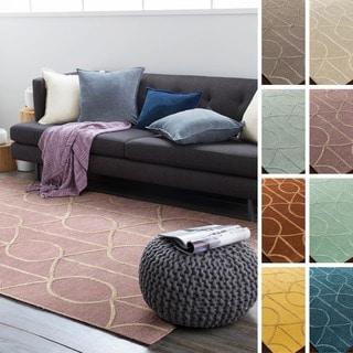 Hand-Tufted Taunton Wool Rug (7'6 x 9'6)