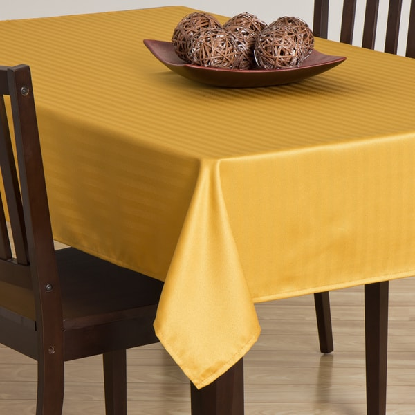 Rosedale Mustard Tablecloth