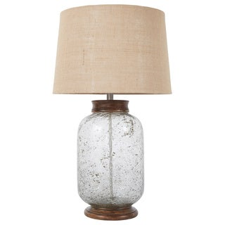 Signature Design by Ashley Shaunette Transparent Glass Table Lamp