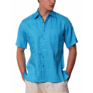 Men's Pocket Linen Shirt
