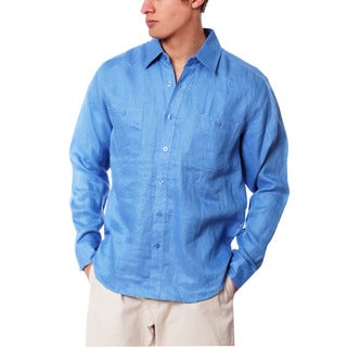 Men's Work Linen Shirt