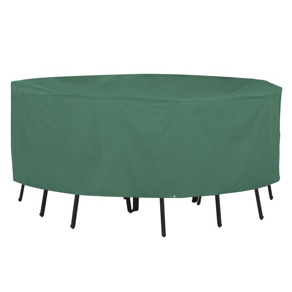 Classic Accessories Atrium Green X-large Rectangular Patio Table Cover