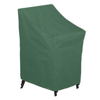 Classic Accessories Atrium Green Stackable Patio Chairs Cover
