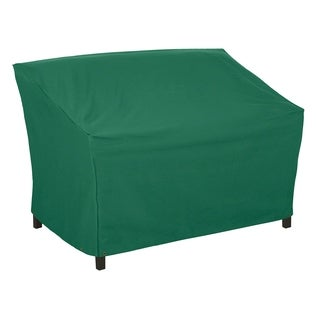 Classic Accessories Atrium 76-inch Green Patio Sofa Cover
