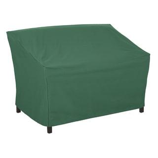 Classic Accessories Atrium 55-inch Green Patio Loveseat/ Sofa Cover