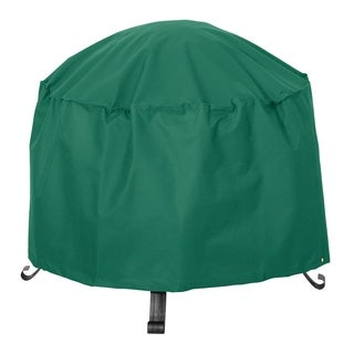 Classic Accessories Atrium Green 34-inch Round Patio Firepit Cover