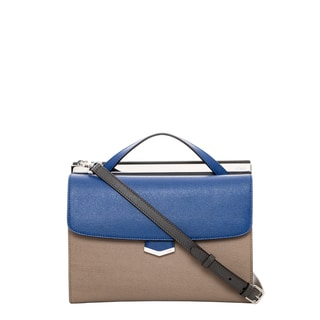 Fendi Bi-Color Demi Jour Shoulder Bag