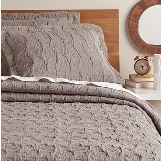 Dana Cotton Paisley Coverlet