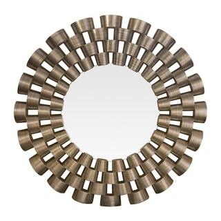 Somette Contemporary Open Weave Mirror