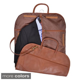 Royce Leather Spencer Genuine Leather Garment Bag