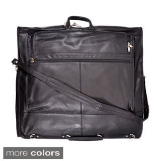 Royce Leather Fletcher Carry-on All Leather Suiter