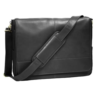 Royce Leather Milano Cowhide Laptop Messenger Bag