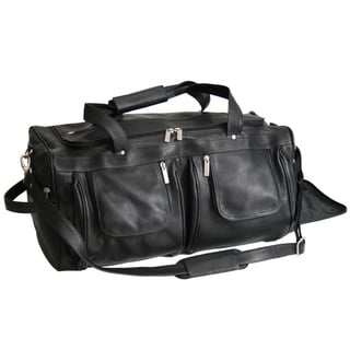 Royce Leather Colombian Vaquetta Carry-on Duffel Bag