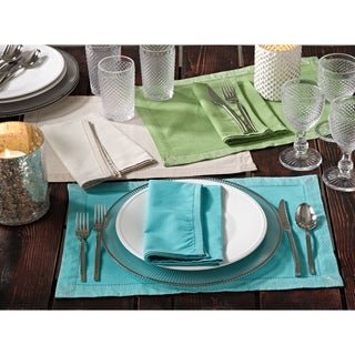 Classic Napkin with Shimmering Border- Set of 4