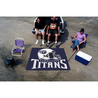 Fanmats Machine-Made Tennessee Titans Blue Nylon Tailgater Mat (5' x 6')