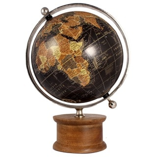 Christopher Decorative Wood Globe