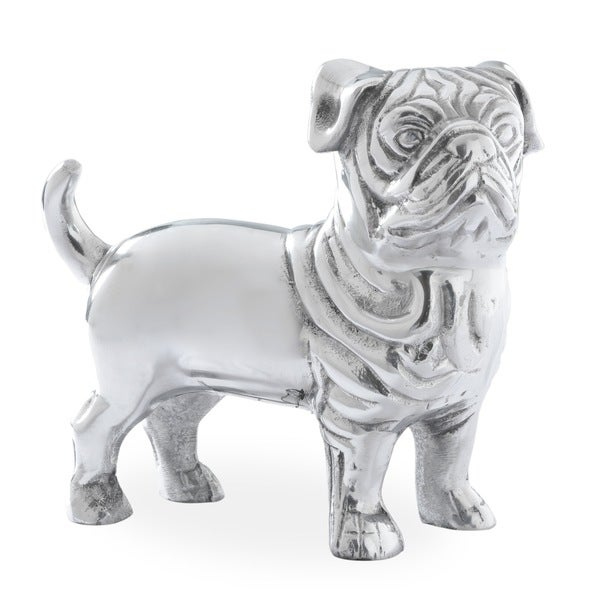 Edgar British Bulldog Aluminum Figurine