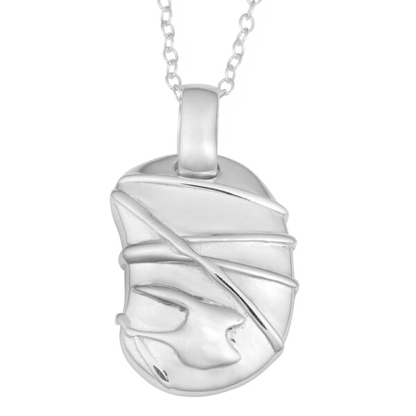 Fremada Sterling Silver Freeform Necklace
