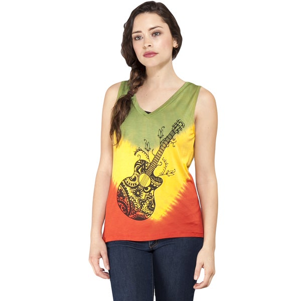 Rock On Rasta Tank Top (Nepal)
