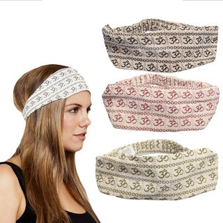 Women's Om Cotton Headband (Nepal)